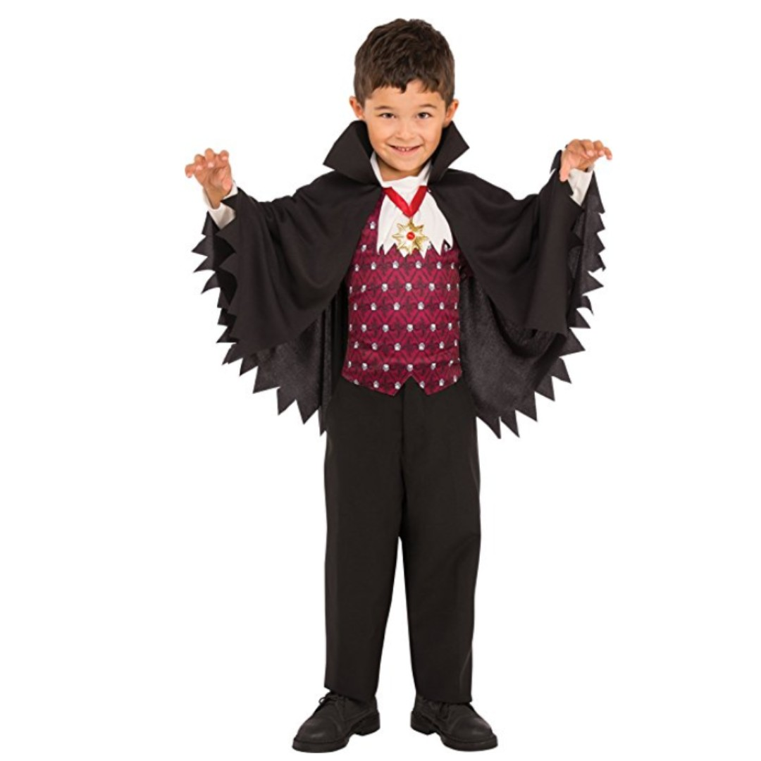 photo photo ...  sc 1 st  Carousell & BN Little Vampire Boys Dracula Shirt with Cape for Boys Kids ...