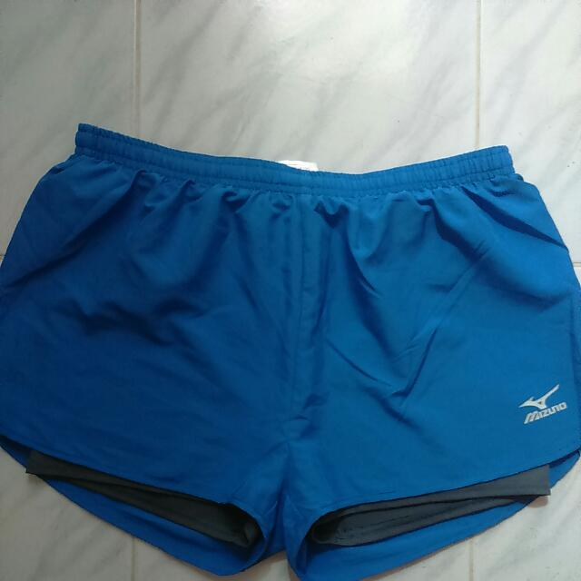 Bn Mizuno Running Short - Size XL