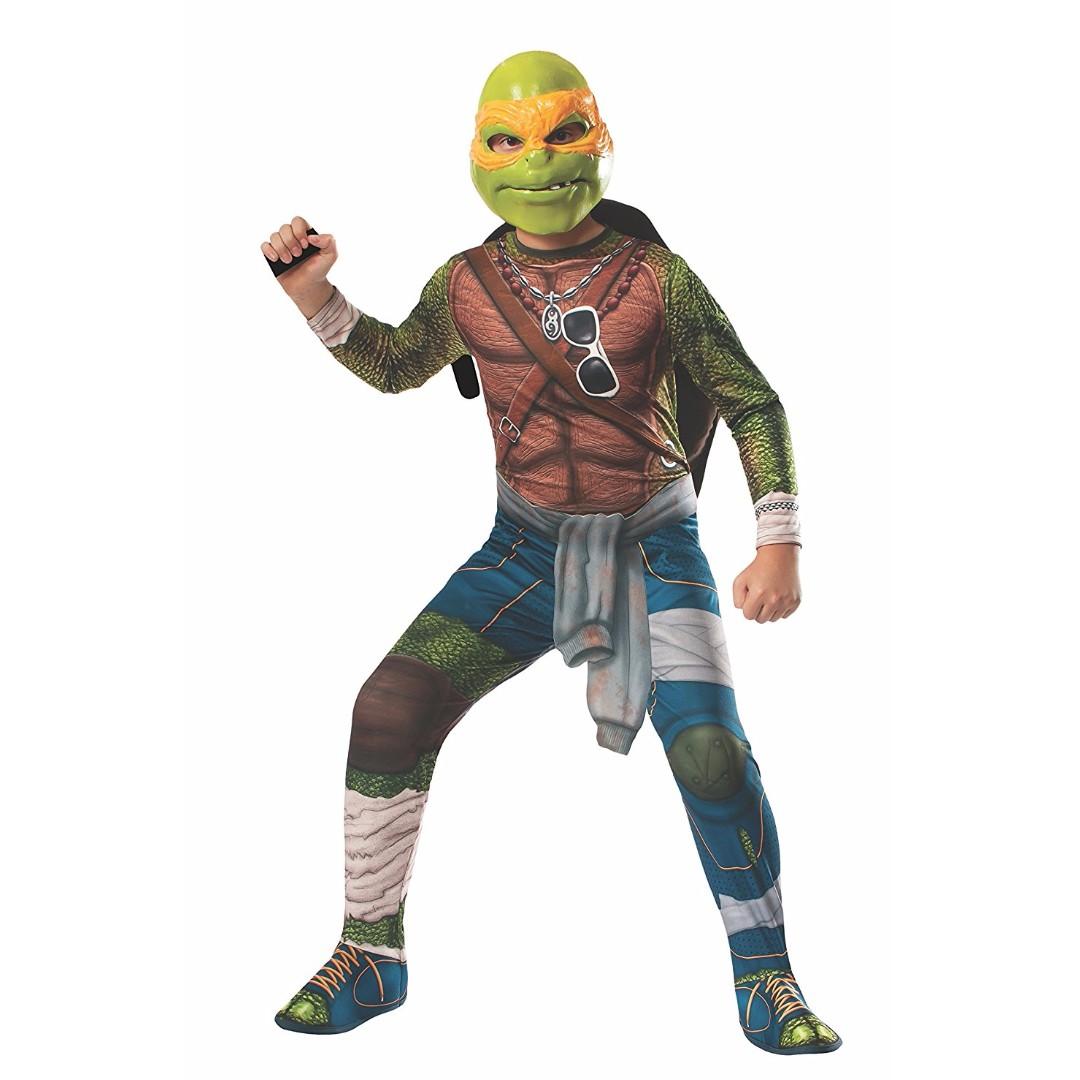 bn rubie's costume kids teenage mutant ninja turtles michelangelo