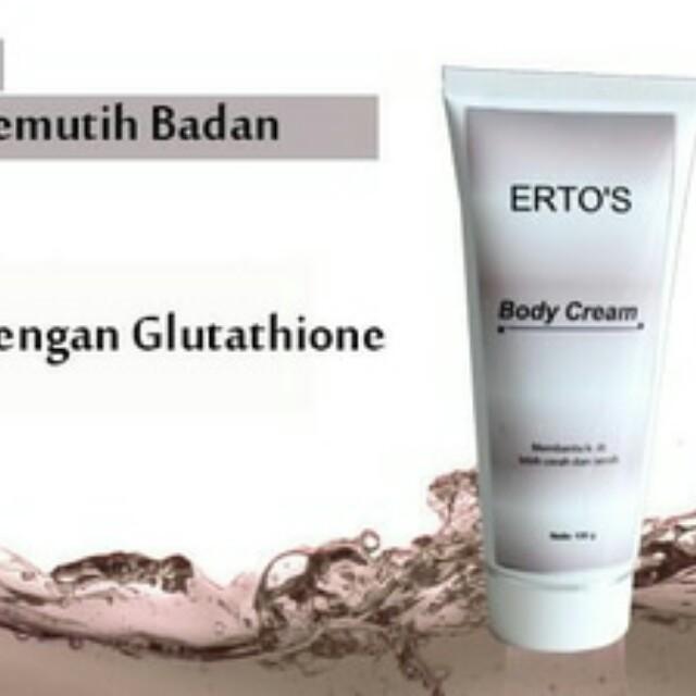 Body Cream Ertos