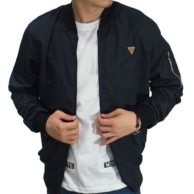 Bomber Jacket Parachute Basic Dark Navy