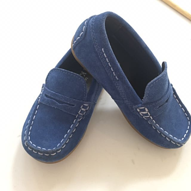 Boys shoes - Leather loafers size UK8 EUR25.5