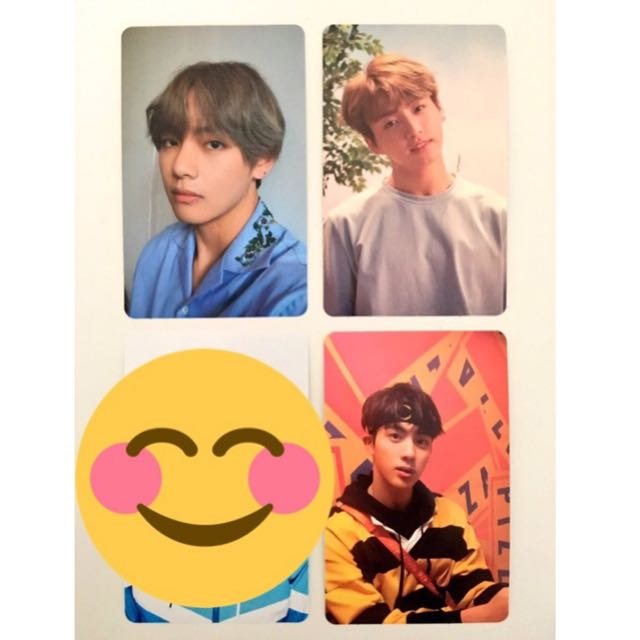 BTS Love Yourself Photocards