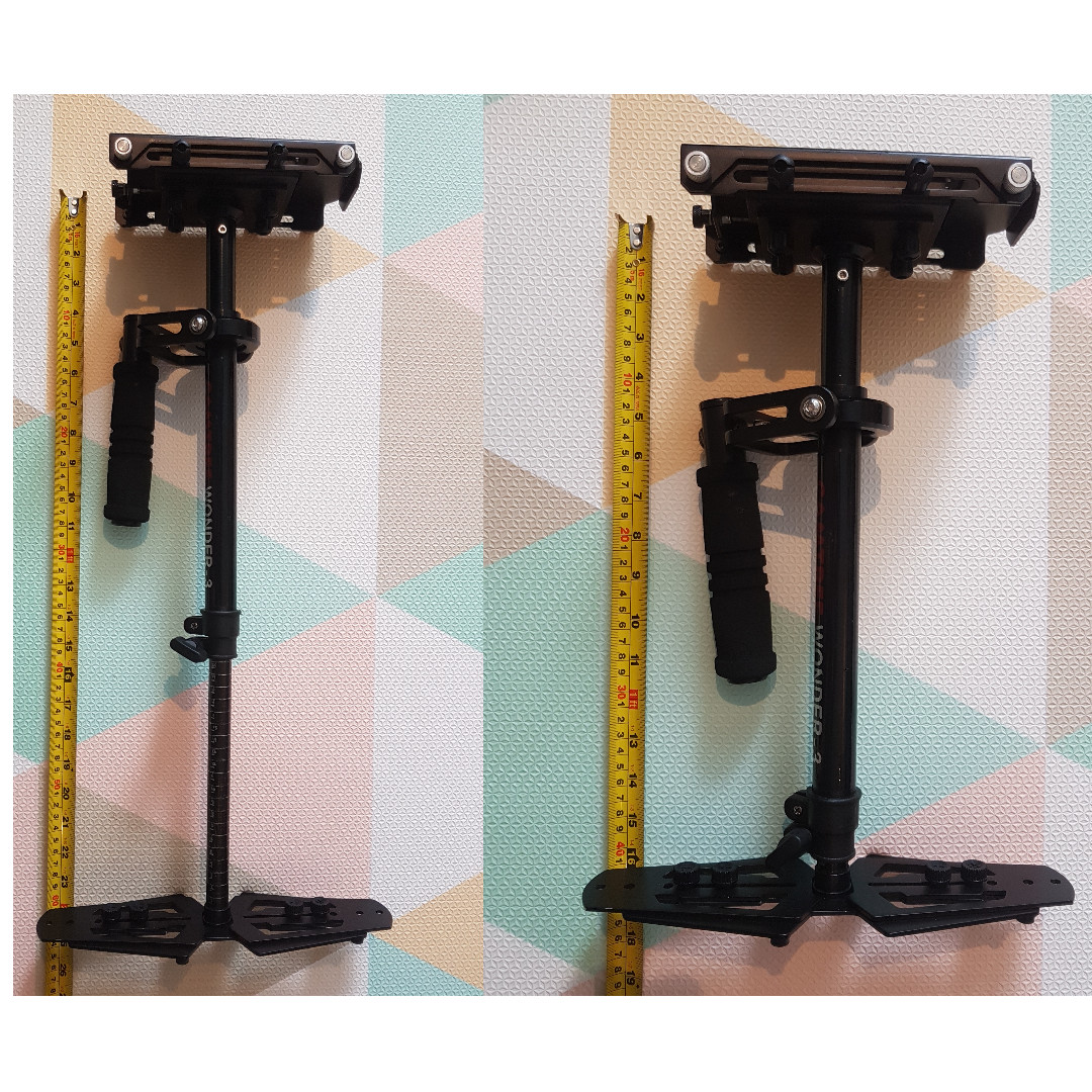 CAMTREE WONDER-3 DSLR stabilizer + FREE quick release and table clamp