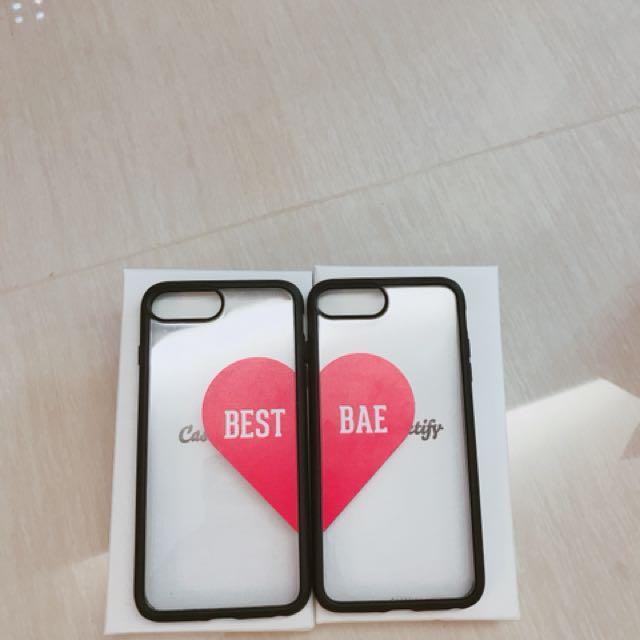 Casetify iPhone 7plus 手機殼 兩個一組