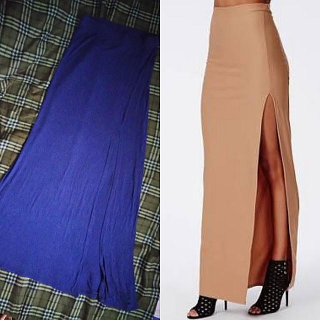 Chalotte Russe Fitted MAXI SKIRT