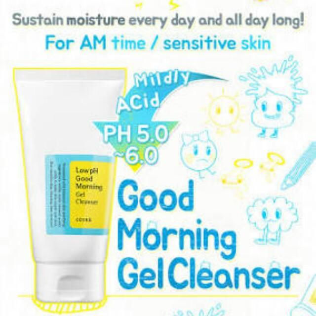 Cosrx Good Morning Gel Cleanser
