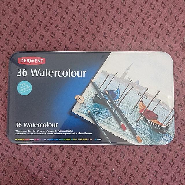 Derwent watercolor pencil 36