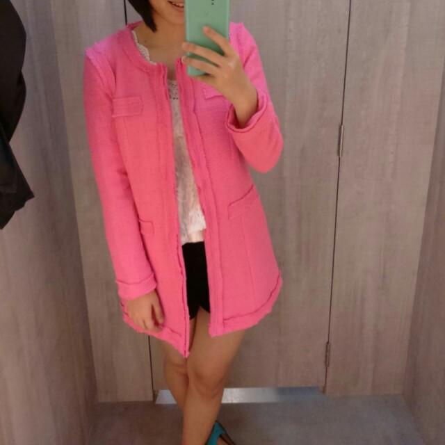 Dolce & Gabbana Inspired Tweed Coat