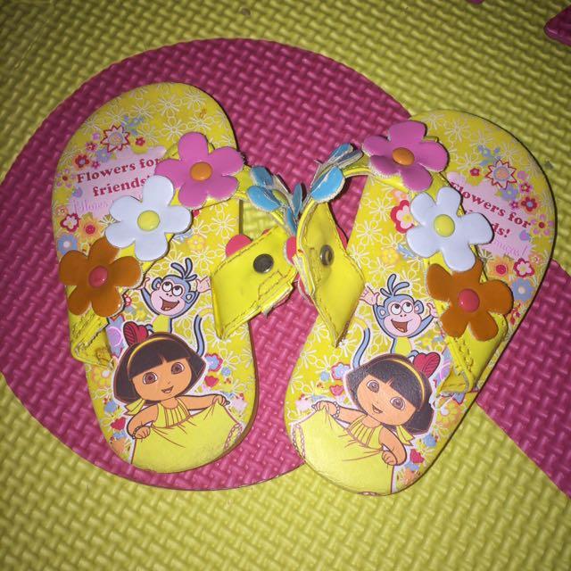 Dora Baby Slippers