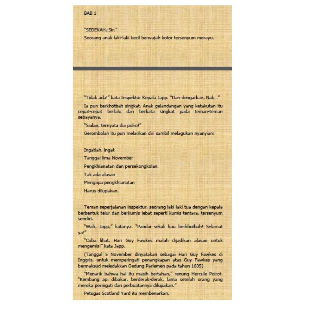 Ebook Pembunuhan di Lorong (Murder in the Mews) - Agatha Christie, Buku &