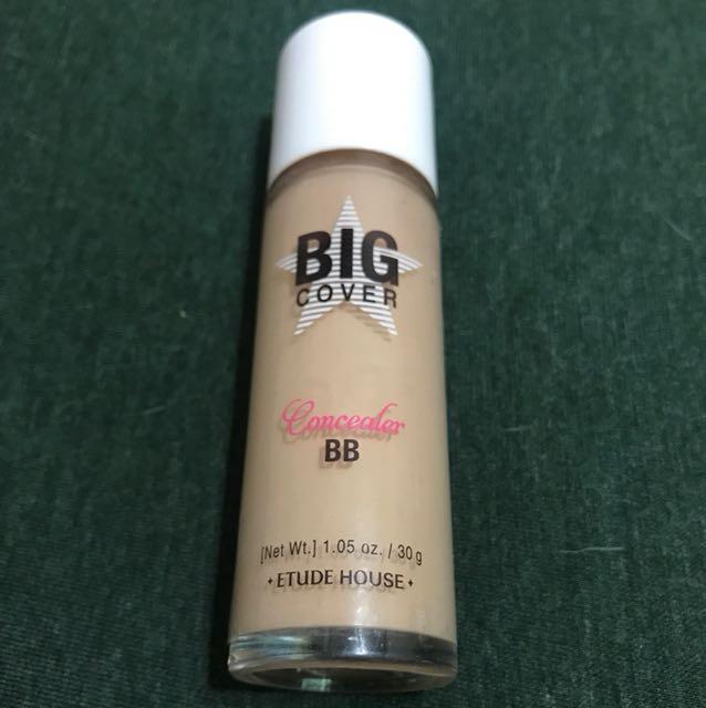 Etude house big cover concealer bb #beige