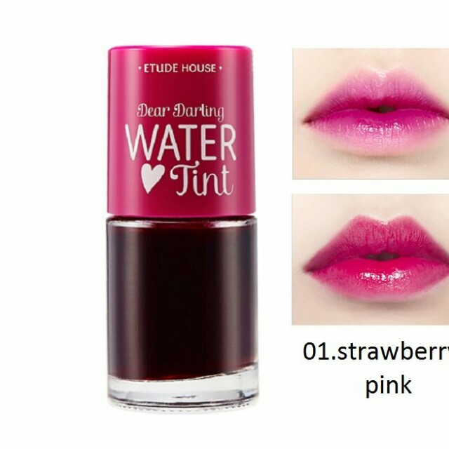 Etude house water tint pink