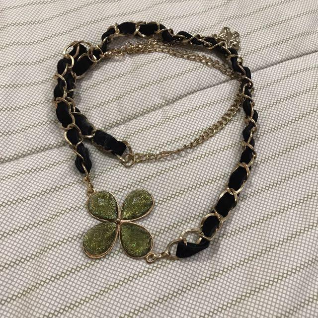 Flower necklace 2 ways