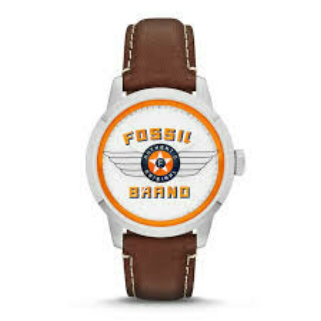 Fossil special edition townsman brown