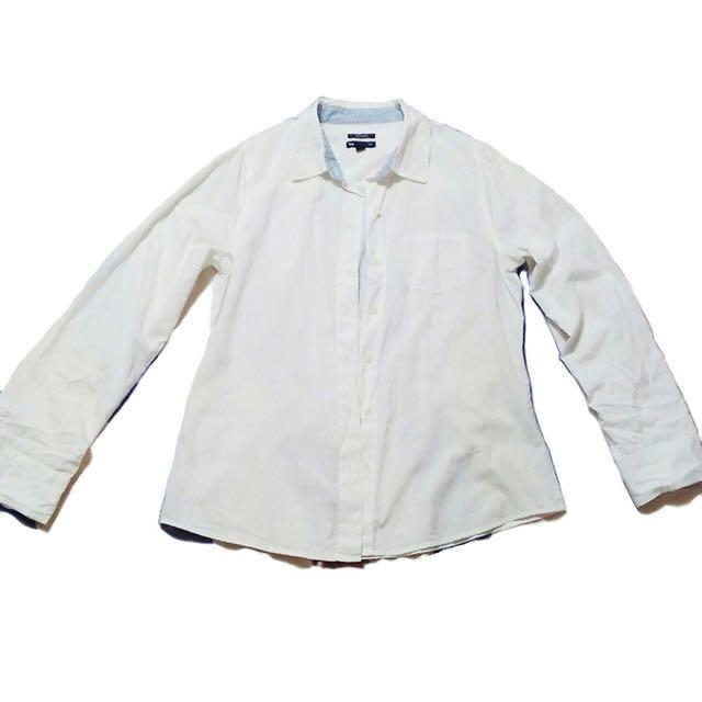 Gap boyfriend button-down shirt | Size on tag S