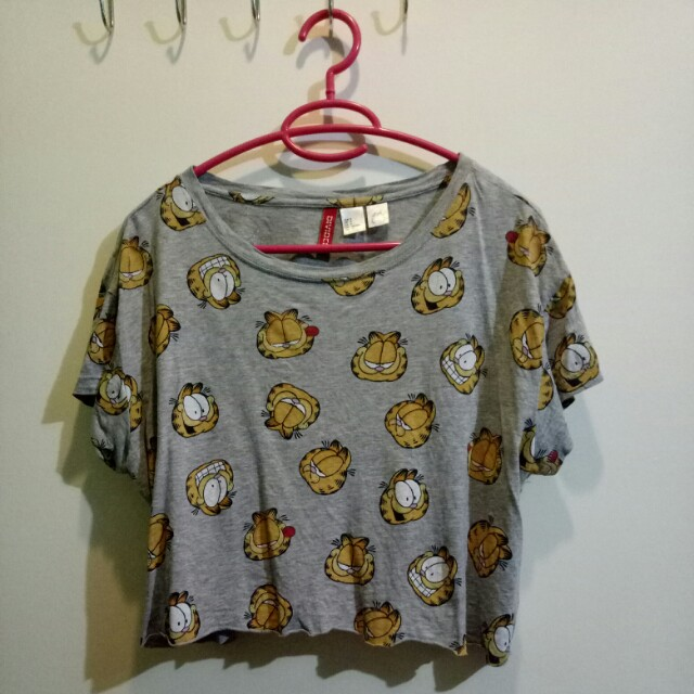 Garfield H&M Cropped Top