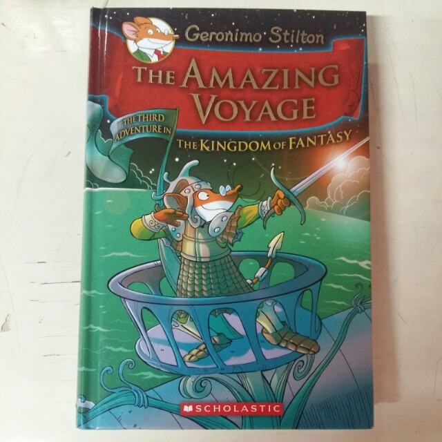 "Geronimo Stilton ""The Amazing Voyage"""