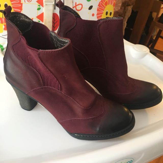 Get Set Bordo Boot