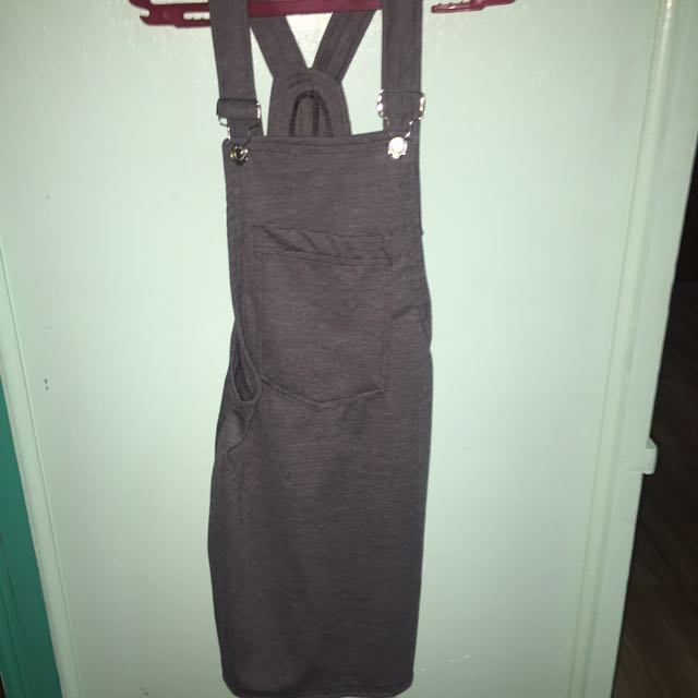 Gray Jumper Dress