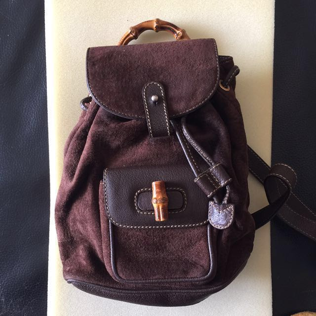 Gucci Bamboo Mini Backpack, Women s Fashion, Bags   Wallets on Carousell add7a8a9c3