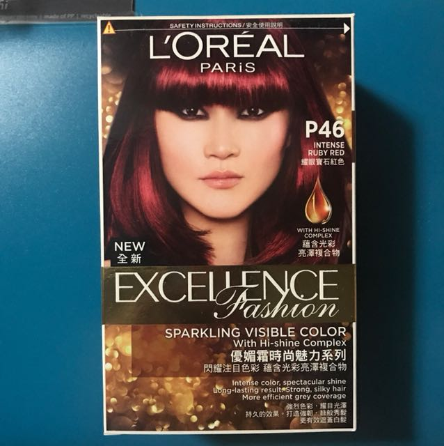 Hair colouring L'oreal