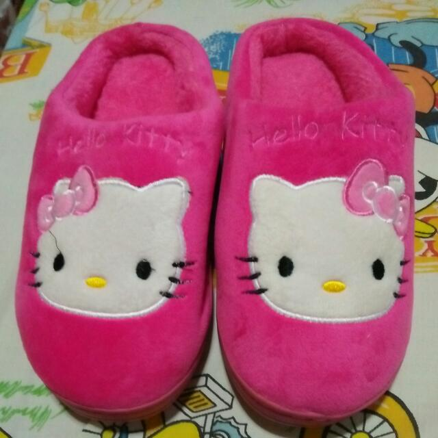 Hello Kitty Bedroom Slippers