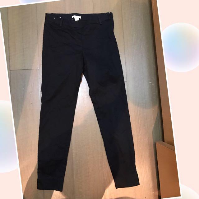 H&M直筒單寧褲