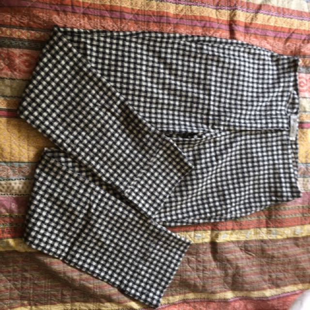 Hourglass Checkered pants