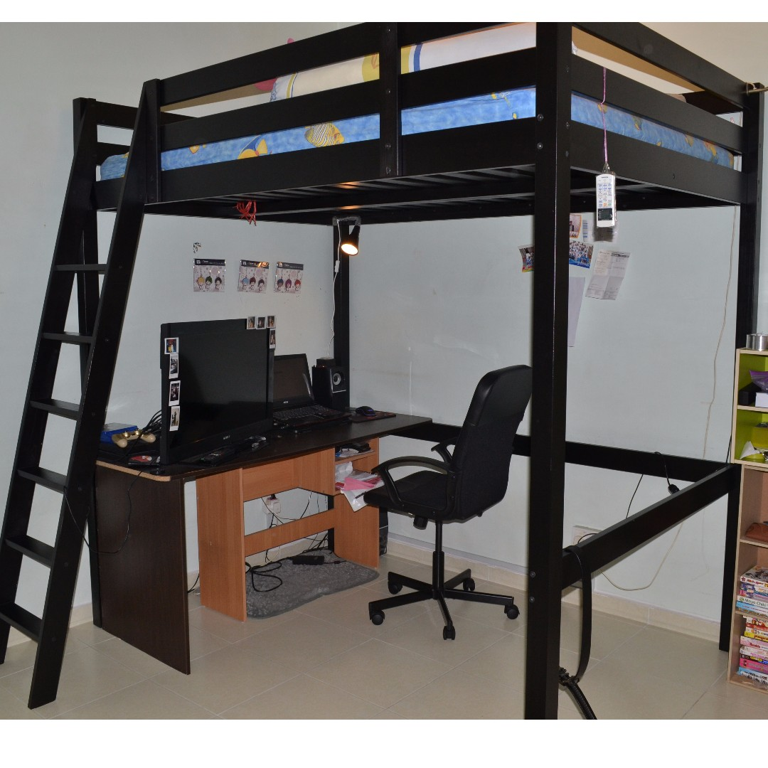 Ikea Stora Loft Bed Queen Home