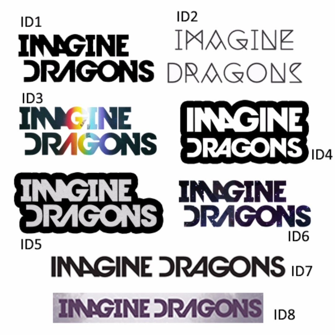 Imagine Dragons Band Stickers Everything Else On Carousell