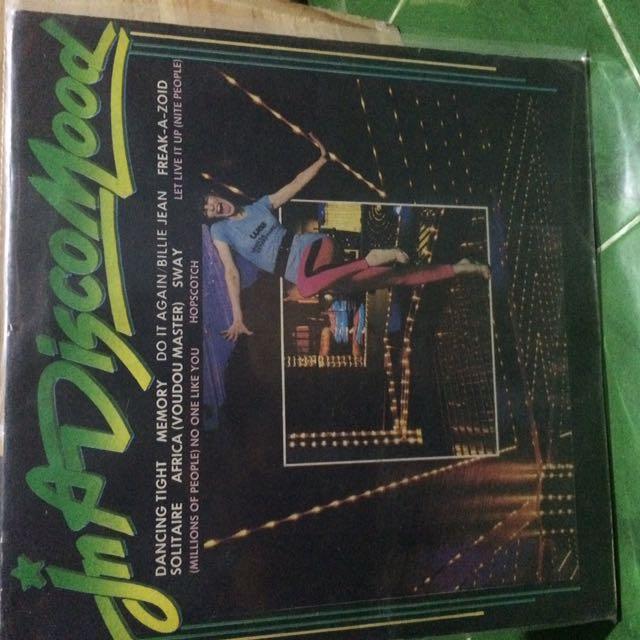 In A Disco Mood Vinyl Records LP Plaka