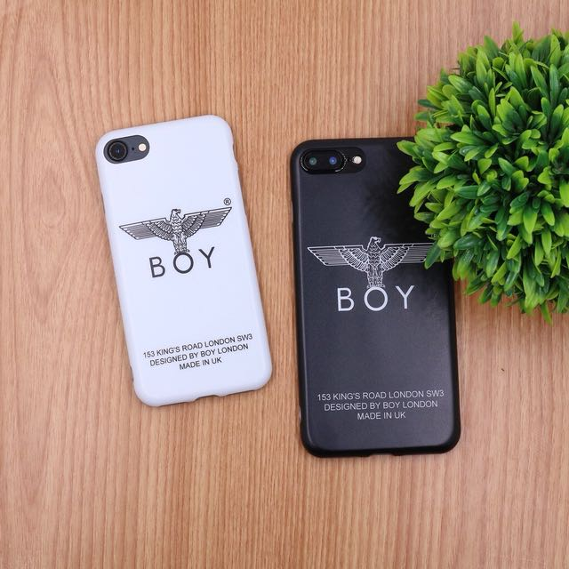 iPhone 7 plus case BOY BLACK
