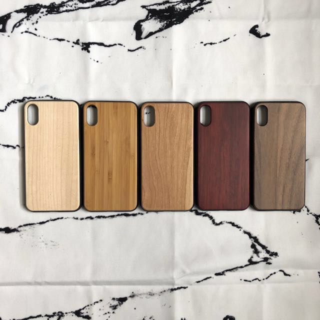 iPhone X Custom Wood Laser Engraved Case iPhone 10
