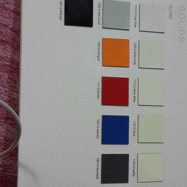 Jenis laminated bajet untuk cabinet