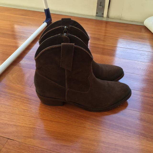 JIGSAW Selby brown boots - size 37