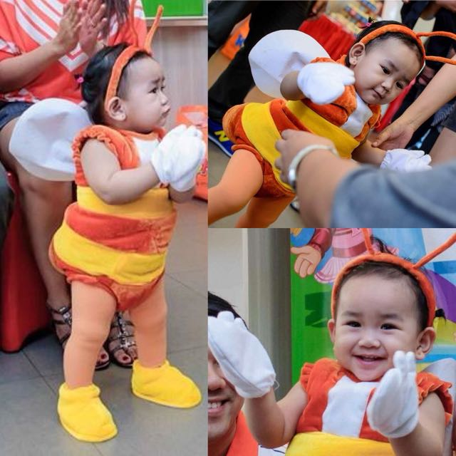 JOLLIBEE KIDDIE COSTUME, Babies & Kids, Others On Carousell