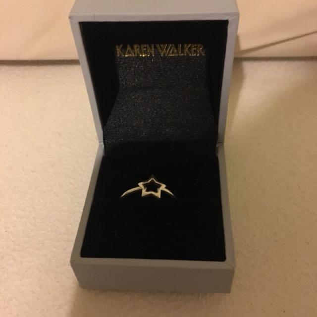 Karen walker star ring