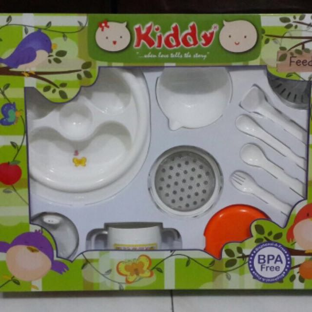 KIDDY Feeding Set & Food Maker