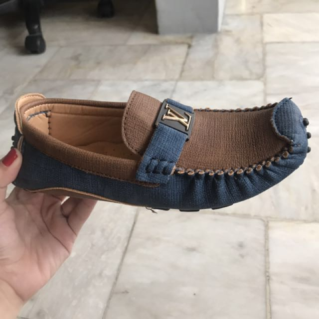 Kids Loafers LV inspired boat shoes