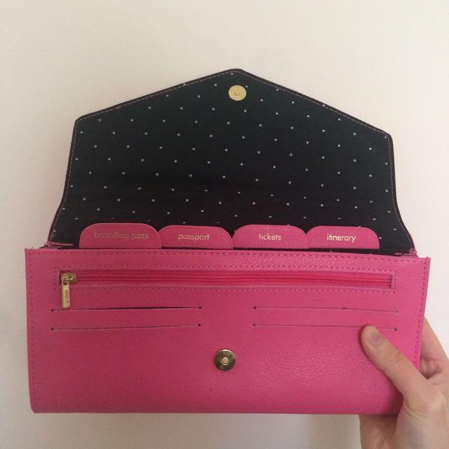 Kikki K Leather Travel Wallet Women S Fashion Bags Wallets On dd71058177