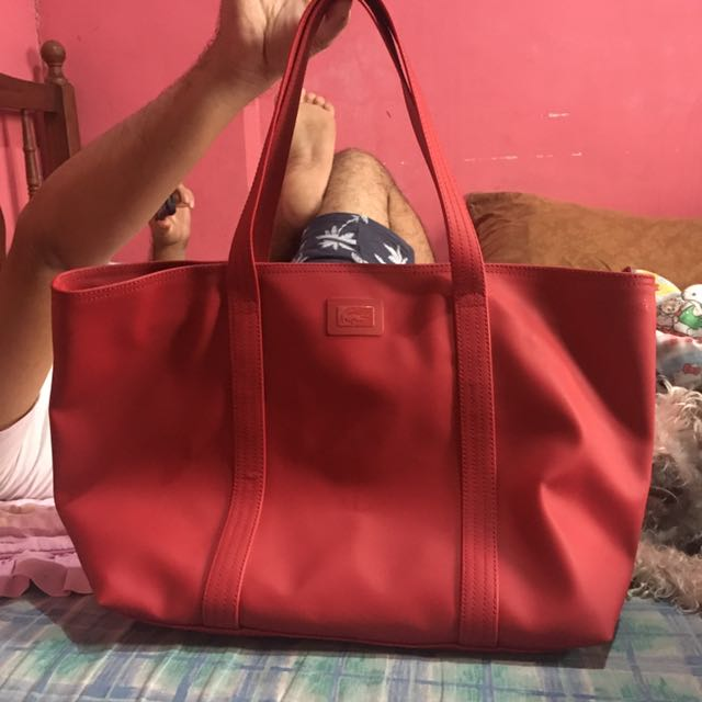 Lacoste Red Bag