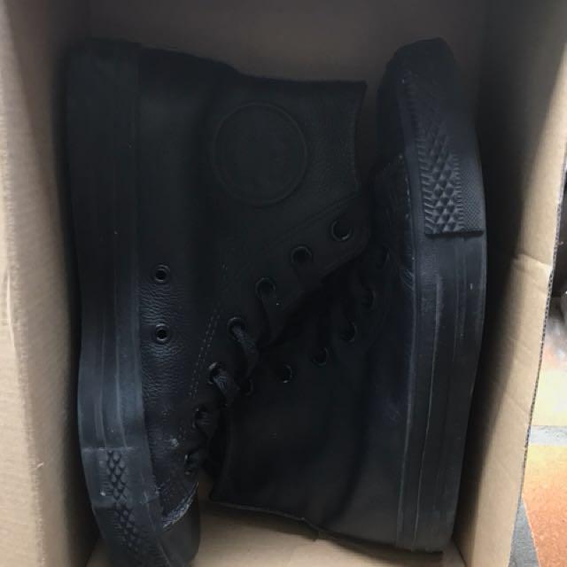 Leather Converse
