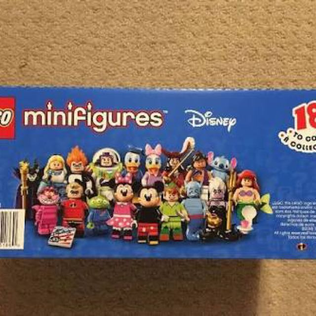 Lego Disney Collectible Minifigure Series Box of 60