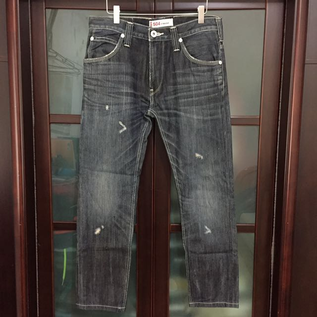 Levi's 504水洗牛仔褲
