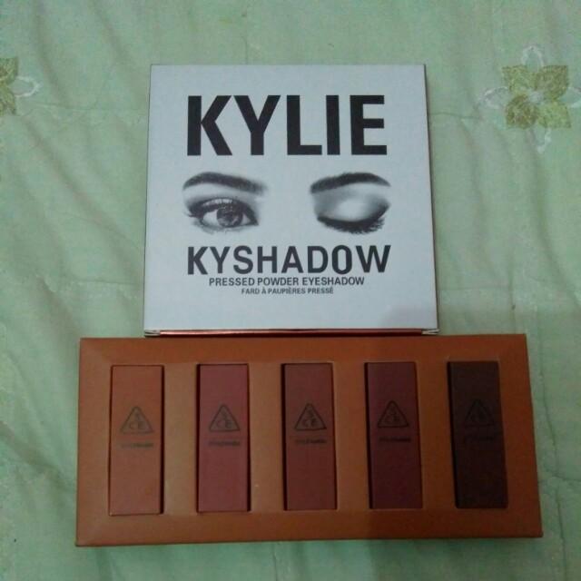 Lipstik 3CE dan kyshadow KYLIE