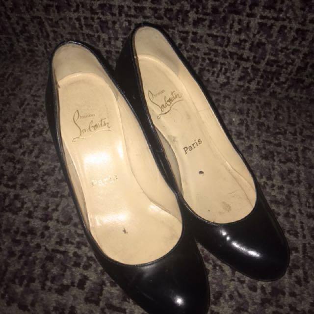 Louboutin Black Heels
