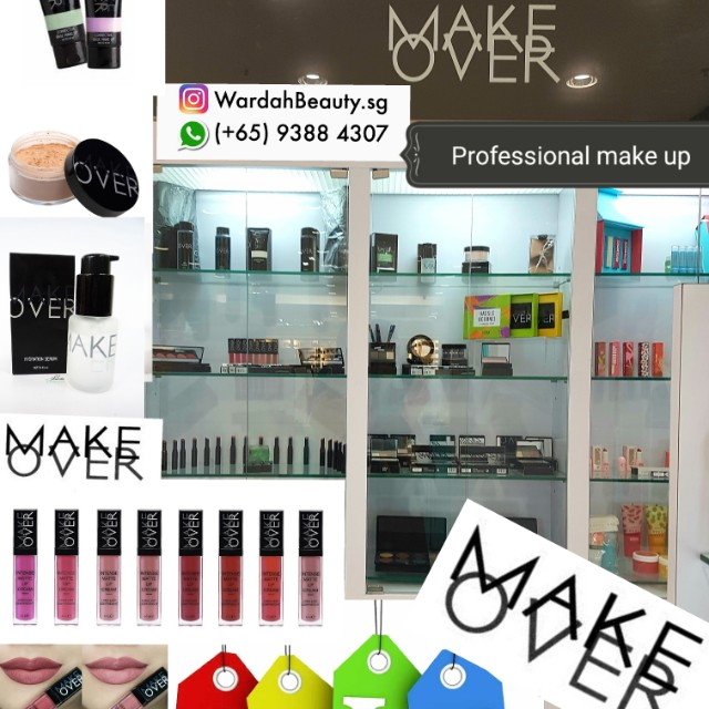 Make Over Professional Sister Brand Of Wardah Health Beauty