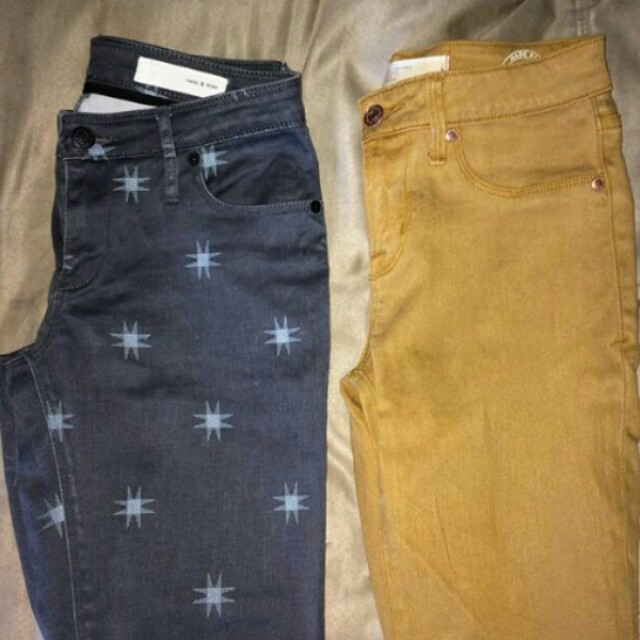 Marc Jacobs & sass bide jeans