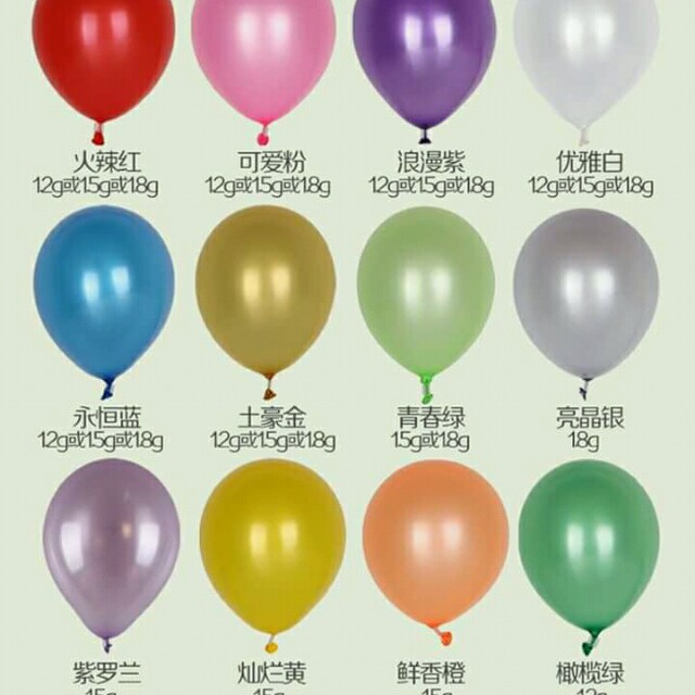 Mitalic ballon